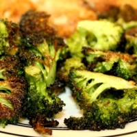 Crispy Garlic Broccoli