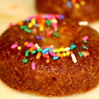 Grain-free Honey-Glazed Donuts - gluten-free