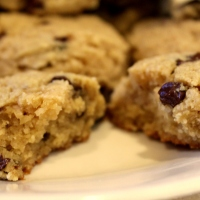 Banana Chocolate Chip Cookies - grain-free, vegan, paleo, fruit-sweetened