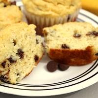 Grain-free Banana Chocolate Chip Muffins - paleo, gluten-free