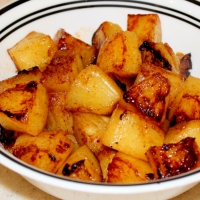 Roasted Cinnamon Pineapple