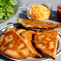 Oven-Baked Quesadillas